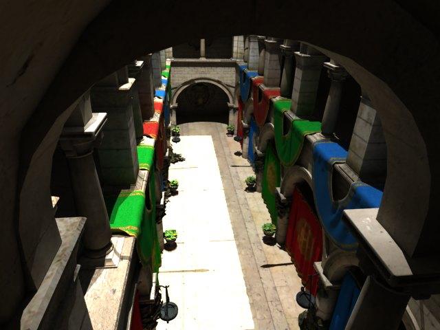 'Crytek Sponza - Huge (VRay)' by rizal44 - 3D Model