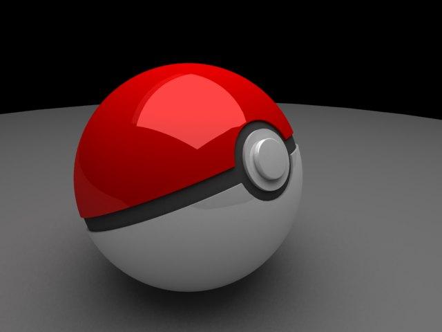'Pokeball (VRay)' by vepxr - 3D Model