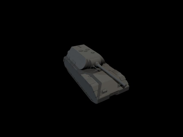'Panzer VIII Maus' by valerio bellia - 3D Model