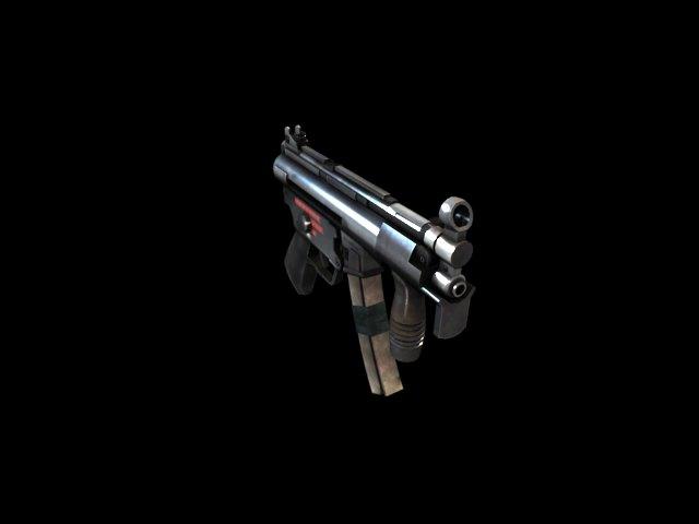'MP5K' by saleh - 3D Model