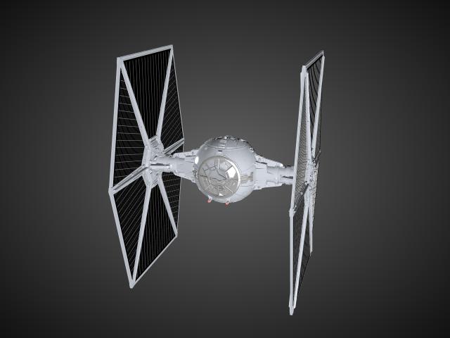 'Starwars TIE Fighter' by lellindsay - 3D Model
