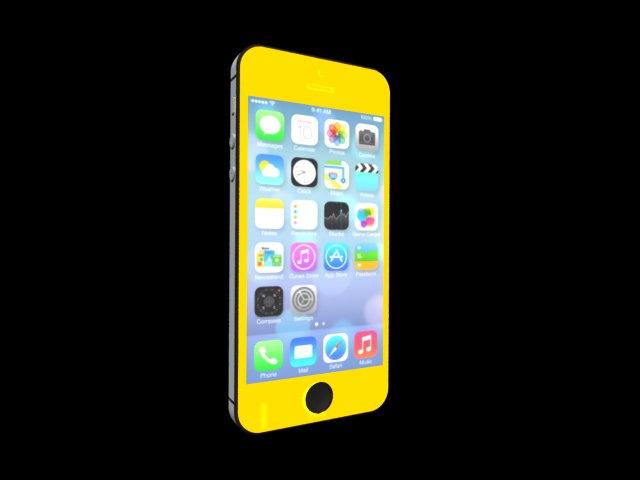 'iPhone 5S' by tjhthjtdedtjh - 3D Model