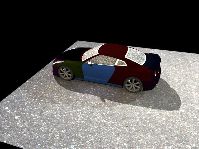 ' Nissan GT-R NISMO' by Kkennedy12 - 3D Model