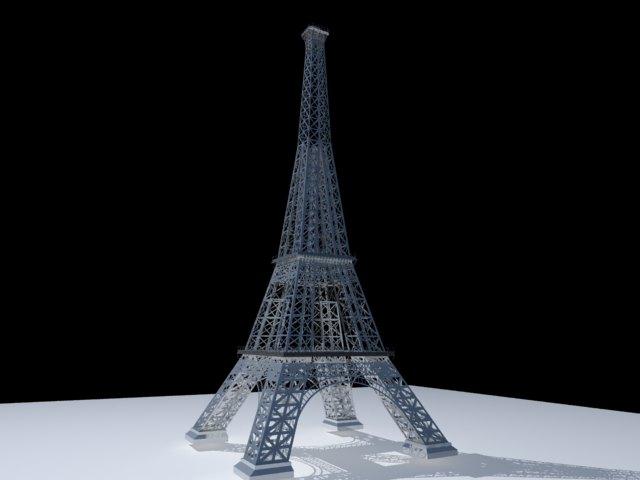 'Effel Tower' by hisho123 - 3D Model