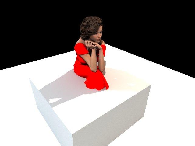 'Nicole' by BananaKakes - 3D Model