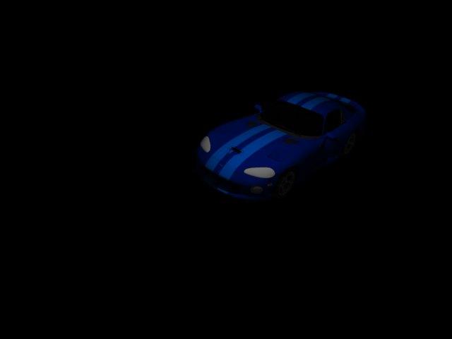 'Dodge Viper GTS' by zanepopes - 3D Model