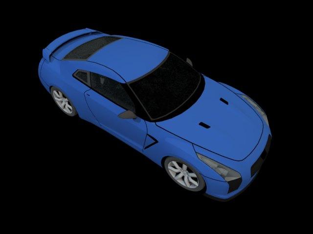 ' Nissan GT-R NISMO' by FalloutStoryteller13 - 3D Model
