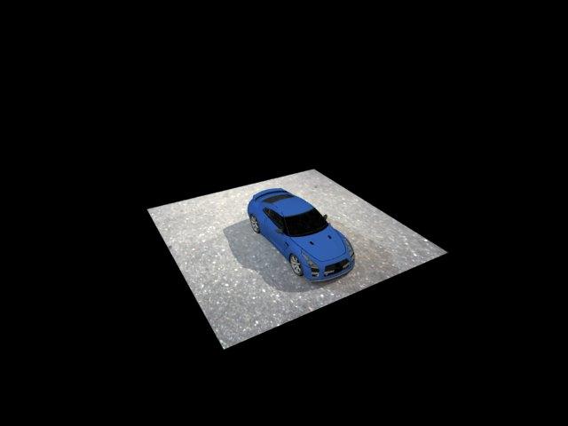 ' Nissan GT-R NISMO' by astraccia - 3D Model