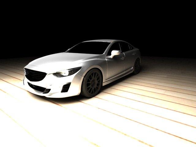'Mazda 6 - AlpigettautStyle' by melisafilm - 3D Model