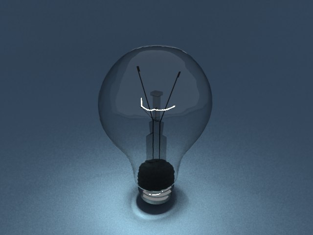 'Light Blub - Mesh Light' by Kateryna123 - 3D Model