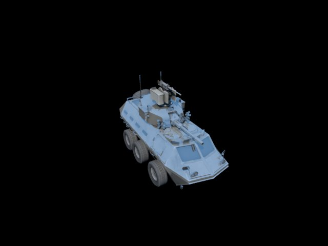 'VEHICLE IFV DMM08' by xmax010 - 3D Model