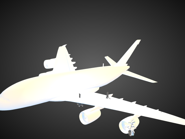 'A380' by extremityartsmedia - 3D Model