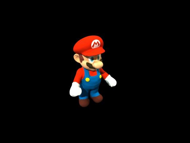 'Mario Sculpture' by iliasabdel - 3D Model
