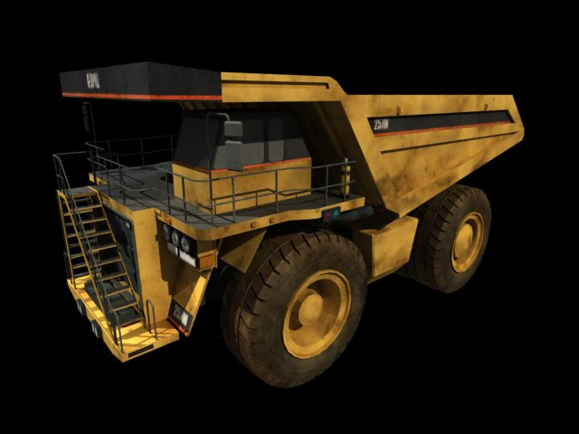 'Mining Dump Truck' by melisafilm - 3D Model
