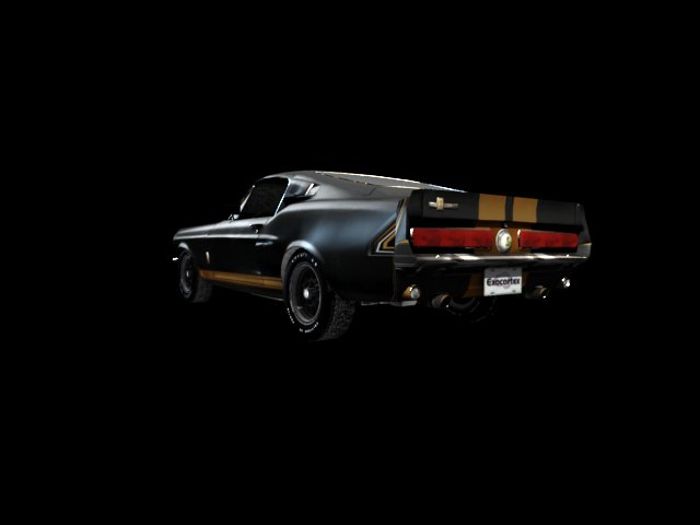 '1967 Shelby Ford Mustang' by kimo2010 - 3D Model