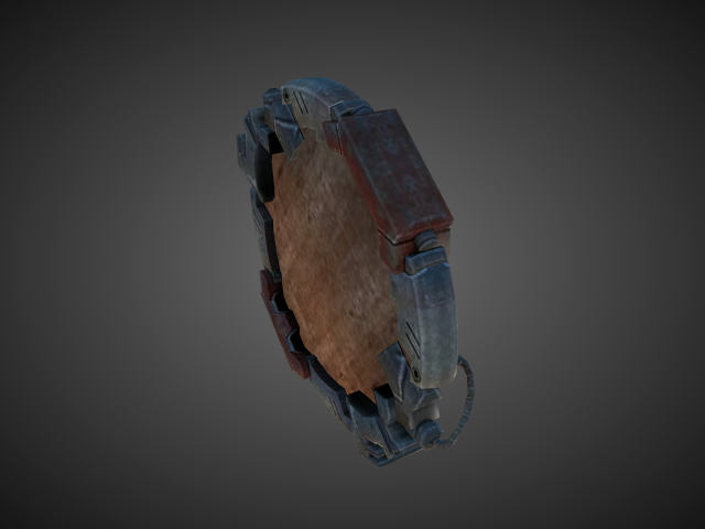 'Chaos Focus - Shield of Barbarossa(The Facility Nightmare)' by bevisbear - 3D Model
