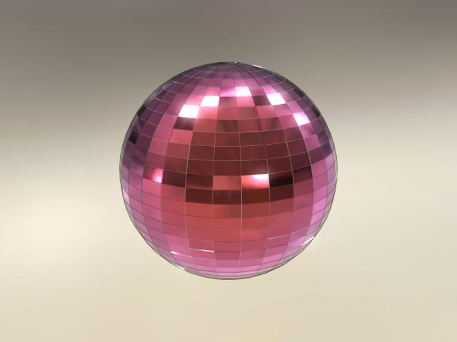 'Disco Ball PBR/IBL' by kira127785 - 3D Model
