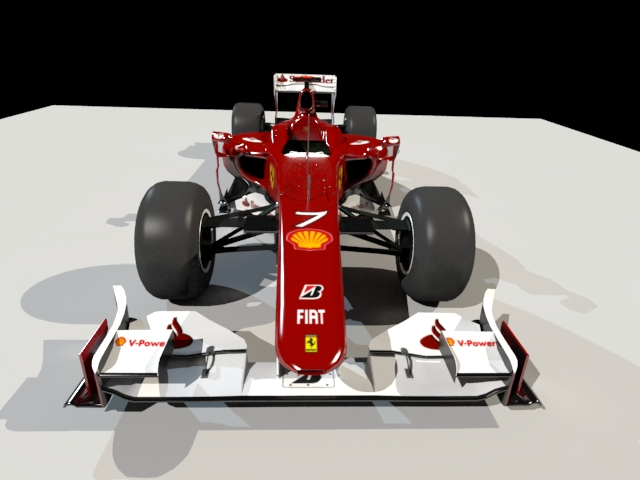 'Copy of Ferrari F1 Race Car' by derBertl - 3D Model