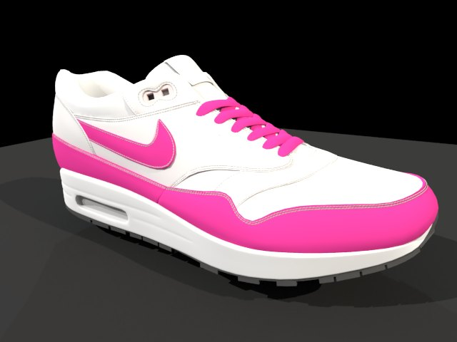 'Nike Air Max - Low Poly' by Kateryna123 - 3D Model