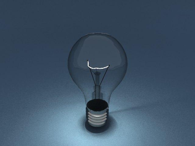 'Light Blub - Mesh Light' by Wolfcatdoglover - 3D Model