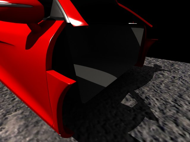 'Audi R8 (Red)' by tijithpeter - 3D Model