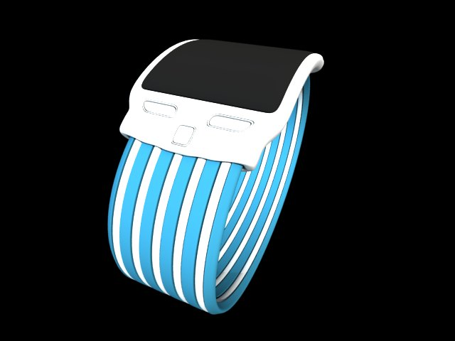 'iWatch concept 4' by valerio bellia - 3D Model
