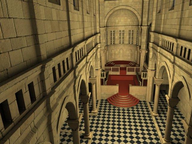 'Sibenik Cathedral (VRay)' by mlozhkin - 3D Model