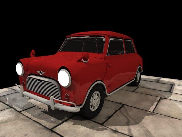 'Mini Cooper' by xmax010 - 3D Model