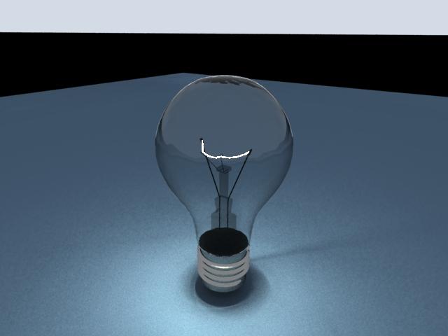 'Light Blub - Mesh Light' by pedro2008 - 3D Model