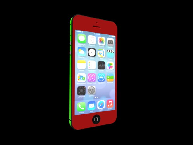 'iPhone 5S' by qeeeqrw - 3D Model