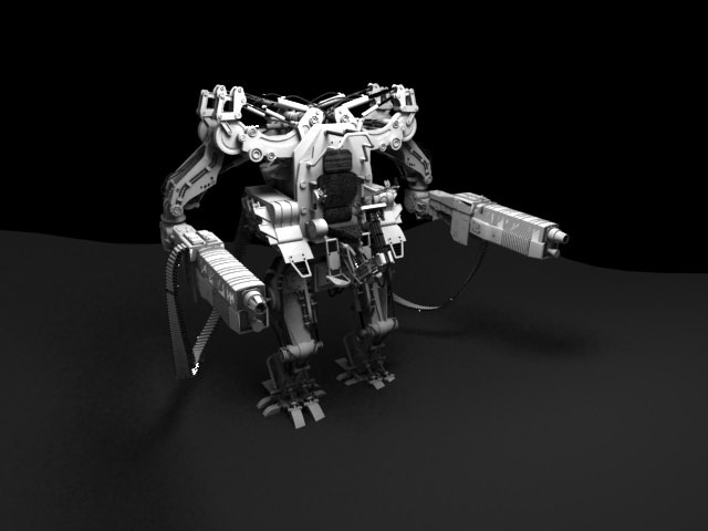 'APU Drone (VRay)' by xmax010 - 3D Model