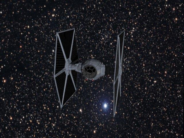 'Starwars TIE Fighter' by xmax010 - 3D Model