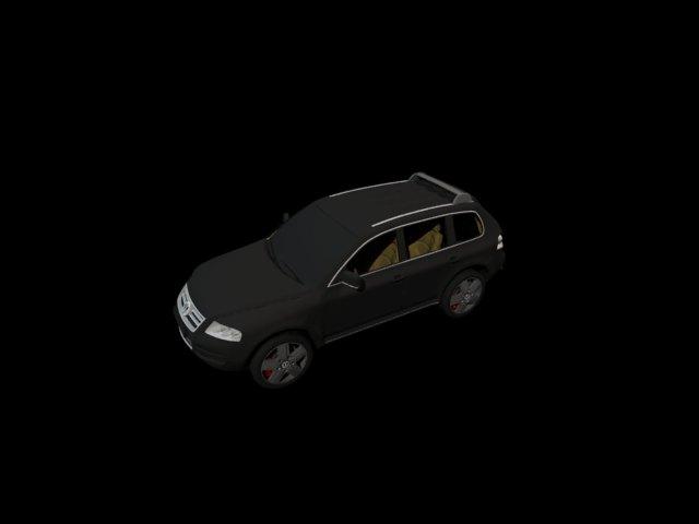'Volkswagen Touareg' by bjclara - 3D Model