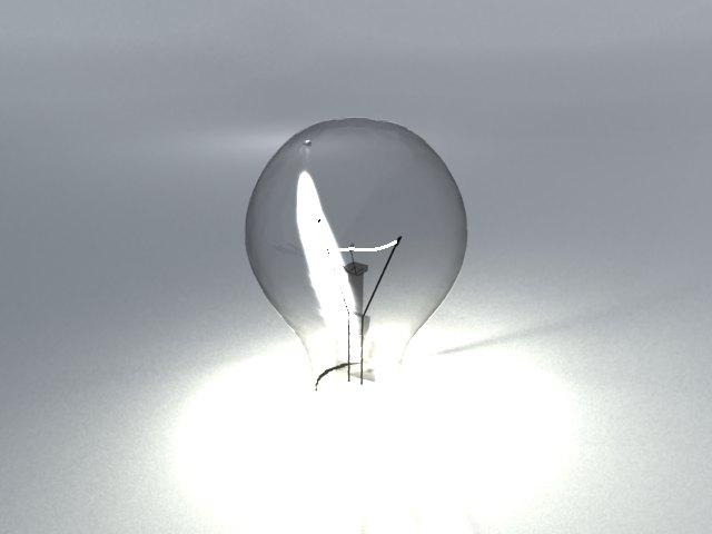 'Light Blub - Mesh Light' by cooker - 3D Model
