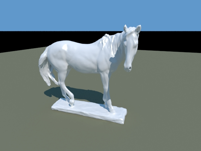 'Horse Statue' by seahawks - 3D Model