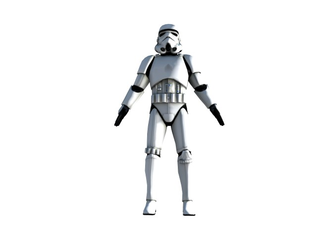 'Stormtrooper2' by RedProphet - 3D Model